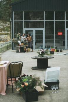 Shooting Carrière Vivien Bluteau Déco floral2